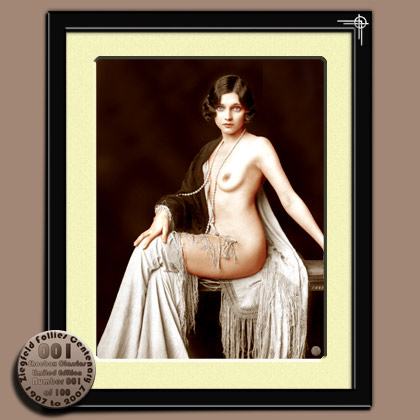 Adrienne Ames - Ziegfeld Girl and Hollywood Beauty with 1920's bobbed hair